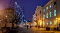 """Jedinstveni adventski kalendar na Županijskoj palači na Franjevačkom trgu: """"posjetite"""" 24 dvorca, utvrde i kurije"""